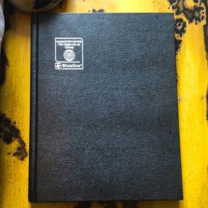 New Blueline One Year Appointment Book